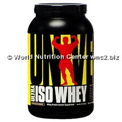 UNIVERSAL NUTRITION - ULTRA ISO WHEY 907gr