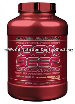 SCITEC NUTRITION - 100% BEEF CONCENTRATE 2Kg
