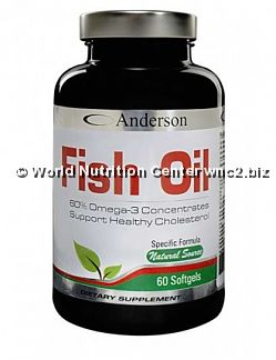 ANDERSON RESEARCH - FISH OIL 60perle