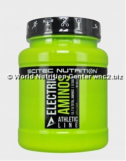 SCITEC NUTRITION ATHLETIC LINE - ELECTRIC AMINOS 570gr