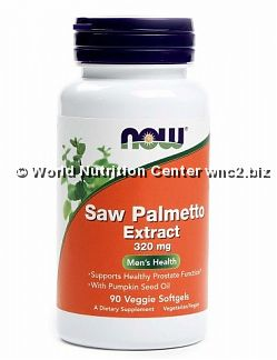 NOW FOODS - SAW PALMETTO EXTRACT 60 softgel