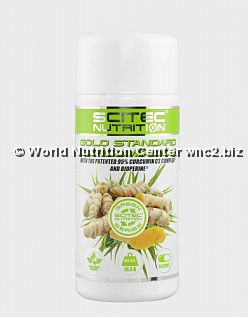 SCITEC NUTRITION - GREEN SERIES - GOLD STANDARD CURCUMINOIDS 60cps
