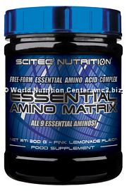SCITEC NUTRITION - ESSENTIAL AMINO MATRIX 300gr
